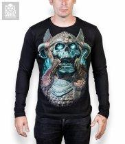 Viking Ragnarok Skull  -  Longsleeve Cool Skullz