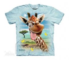 Giraffe Selfie - Junior The Mountain