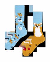 Playful Dog - Ponožky - Many Mornings