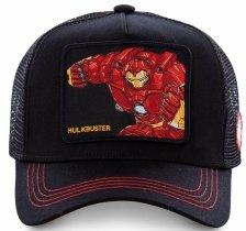 Hulkbuster Black Marvel - Kšiltovka Capslab