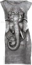 Big Face Ganesh - Šaty The Mountain