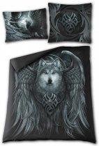 Wolf Spirit Double (200x200) - Ložní povlečení Spiral
