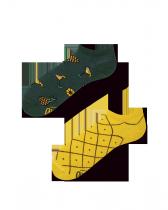 Pineapples - Krátké Ponožky - Many Mornings