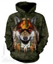 Native Wolf Spirit - Mikina The Mountain