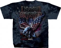 Lynyrd Skynyrd True Red, White & Blue  - Liquid Blue