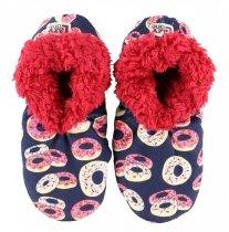 Donut Disturb Fuzzy Feet - Papučky - LazyOne