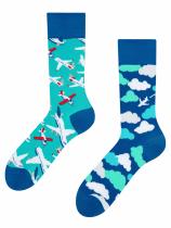Letadla a Oblaky Ponožky Good Mood