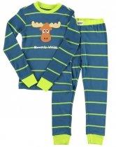 Moosely Wild - Pyžamo dětské dlouhý rukáv – LazyOne
