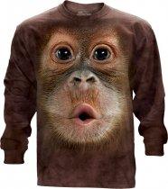 Big Face Baby Orangutan Long Sleeve The Mountain