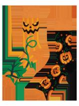 Halloweenská Dýně - Ponožky Good Mood