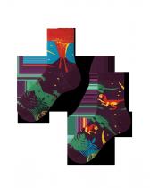 The Dinosaurs - Ponožky Pro Děti - Many Mornings