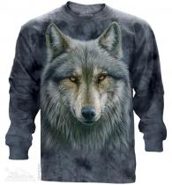 Warrior Wolf - Long Sleeve The Mountain
