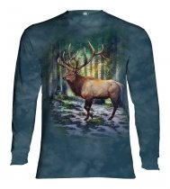 Sunlit Elk - Long Sleeve The Mountain