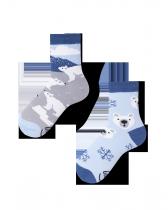 Polar Bear  - Ponožky Pro Děti - Many Mornings