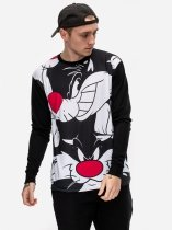 Sylwester Expression Longsleeve - Looney Tunes