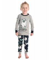 Yeti For Bed - Pyžamo dětské dlouhý rukáv - LazyOne