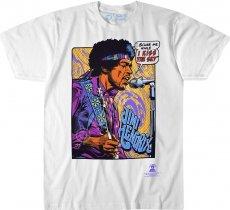 Jimi Hendrix Pop Art - Liquid Blue