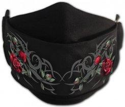 Tribal Rose - Mask with Adjuster Spiral