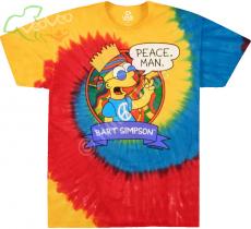 The Simpsons Peace Man - Liquid Blue
