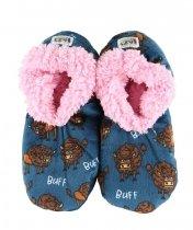 Buffs Fuzzy Feet  - Papučky - LazyOne