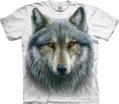 Warrior Wolf White - The Mountain