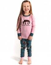 Girls Pasture Bedtime - Pyžamo dětské dlouhý rukáv – LazyOne