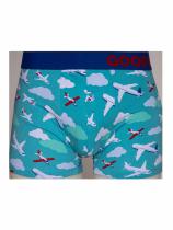 Samoloty i Chmury - Bokserki Męskie - Good Mood