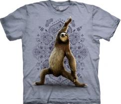 Warrior Sloth Yoga Grey - The Mountain