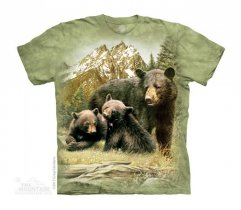 Black Bear Family - The Mountain - Dziecięca