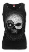 Yin Yang Skulls - Razor Top Spiral - Damska
