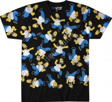 The Simpsons Homer Pile - Liquid Blue