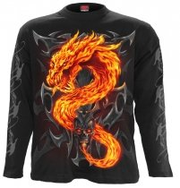Fire Dragon - Longsleeve Spiral