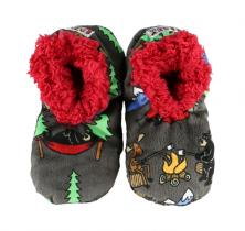 Happy Camper Fuzzy Feet - Papcie Dziecięce LazyOne