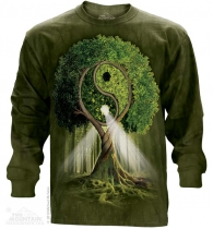 Yin Yang Tree - Long Sleeve The Mountain