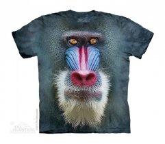 Big Face Mandrill Baboon - Małpa - The Mountain - Junior