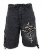 Custodian - Krótkie Spodnie Denim Spiral