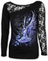 Bluebell Fairy - Lace One Shoulder Spiral - Damska