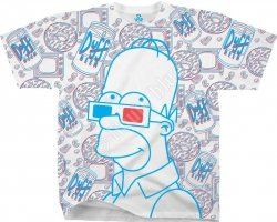The Simpsons 3D Homer - Liquid Blue