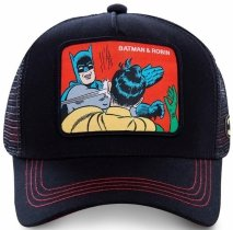 Batman & Robin Black DC - Czapka z daszkiem Capslab