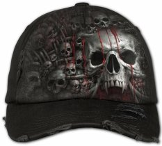 Death Ribs - Baseball Cap - Spiral