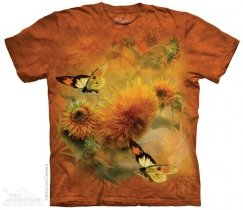 Sunflowers and Butterflies - The Mountain