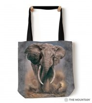 African Elephant Tote Bag - Torba - The Mountain