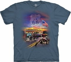 Route 66 Blue - The Mountain Base