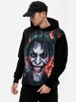 Joker Ashes - bluza z kapturem DC Comics