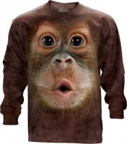 Big Face Baby Orangutan Long Sleeve -The Mountain