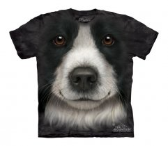 Border Collie Face - The Mountain - Junior