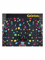 Neonowe Kropki - Bokserki Męskie - Good Mood