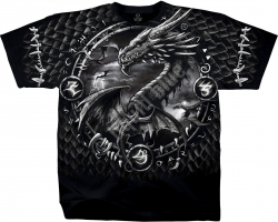 Dragon Dreamcatcher - Liquid Blue