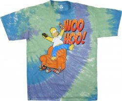 The Simpsons Woo Hoo - Liquid Blue