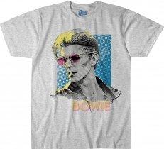 David Bowie Sketch Heather - Liquid Blue